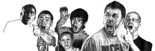Film Riot: Sketch by redghostman
