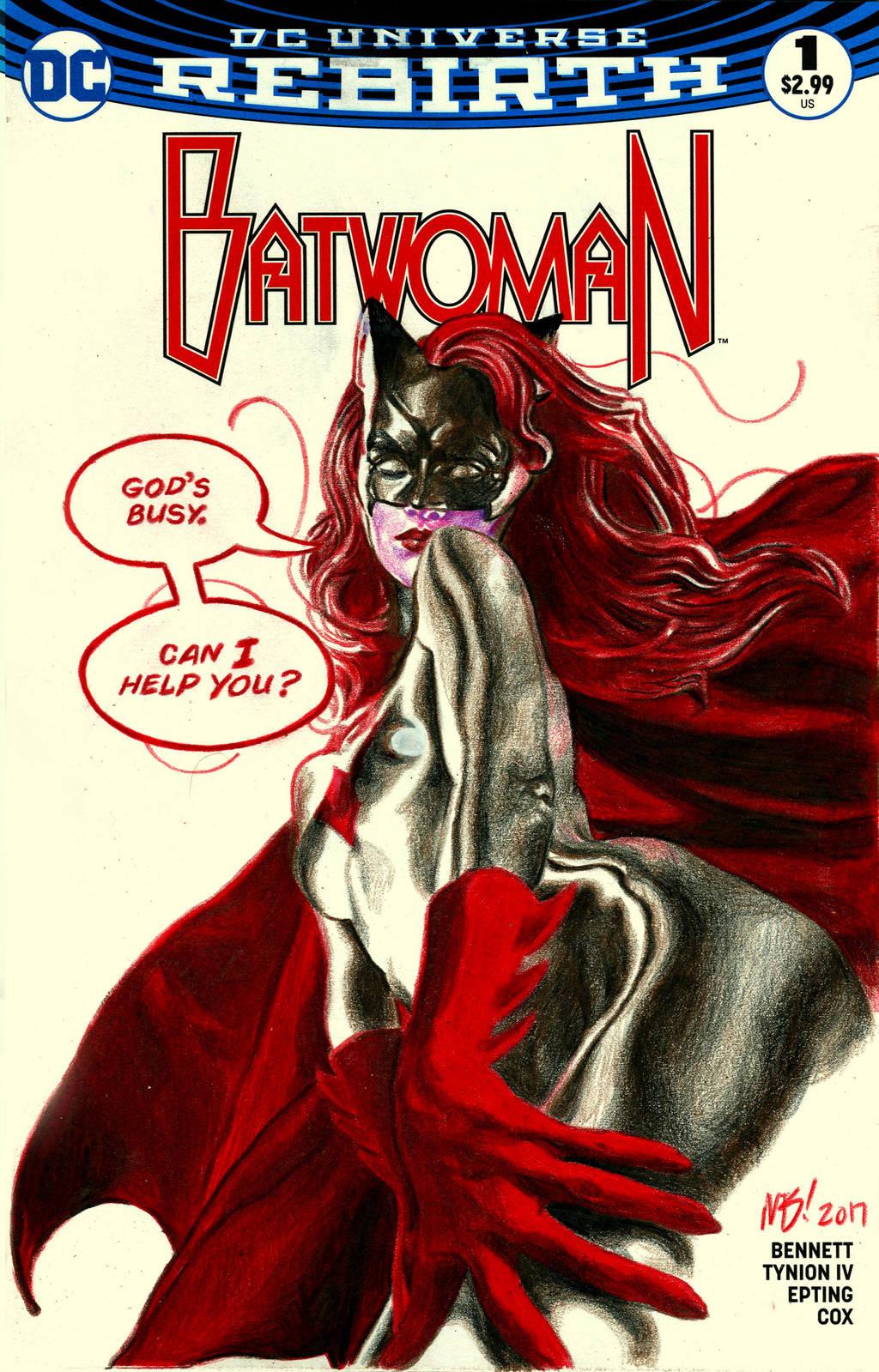 Batwoman #1 by redghostman