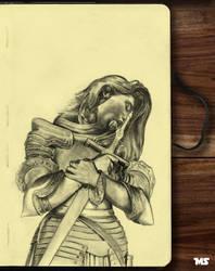 Sketchbook pg10 by redghostman