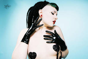 Latex Gloves by SarahInTortureland