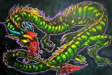eastern dragon by CarlosAcosta76
