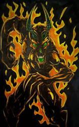 Elemental fire  by CarlosAcosta76