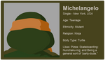 Dating Fictions - Michelangelo by TheNYRD