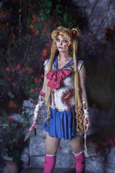 Sailor Moon Zombie by Moonychka
