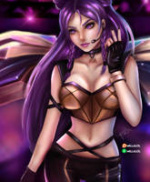 Kaisa K/DA - Fan art by Millalol