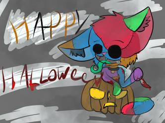 Stitches Halloween by lunawolf567