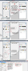 GIMP gif animation tutorial by starca