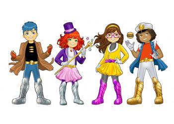 Characters Bebelu by MarcelloHolanda