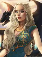 Daenerys by cosmogirll