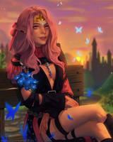 FFXIV Livie by cosmogirll