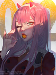 Darling in The Franxx by cosmogirll