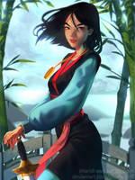 Mulan by cosmogirll
