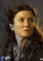 Catelyn Stark by Paganflow