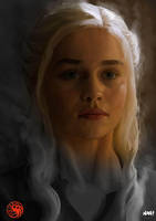 Daenerys Targaryen by Paganflow