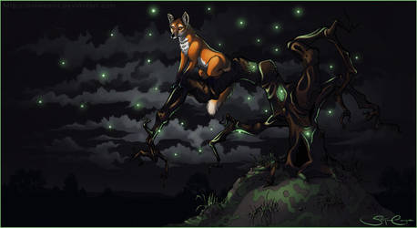 The Fox and the Faerie Tree by animamia