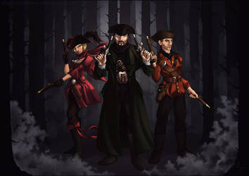 The Highwaymen by animamia