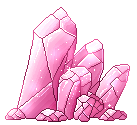 [F2U] Pink Crystals by WhotchaBerry