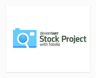 Official dA Stock Project Logo by TheRyanFord