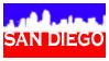San Diego by MaElena