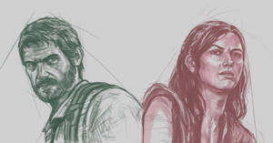 Last of Us - Joel and Tess by Kenshike1