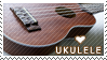 Ukulele Stamp by curiouslycute