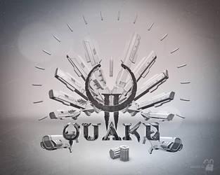 Quake 2 wallpaper by krolone