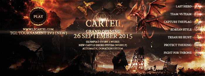 Lineage II Cartel (NEW) by strain-d