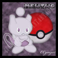 Mewtwo Chao by CCmoonstar23