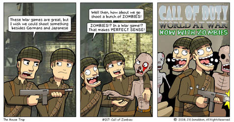 Call of Zombies by JamesDonaldson