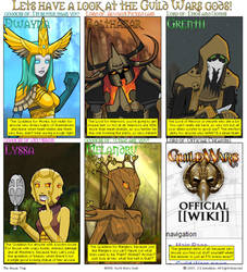 Guild Wars Gods by JamesDonaldson