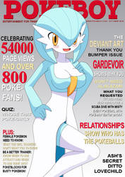 Pokeboy Oct 2010 Cover by JamesDonaldson