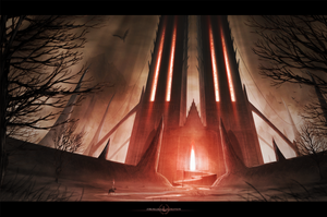 Stronghold of oblivion by Aeon-Lux