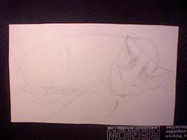 mon chat en dessin by hichigot