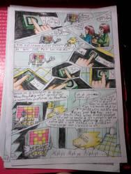 Strangetale bd undertale page 33 by hichigot