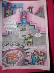 bd Strangetale (bd undertale) page 43 by hichigot