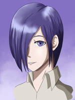 Touka portrait by D-to-A
