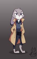Lieutenant Judy hopps by DenseLynx