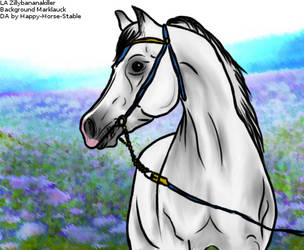 Karim, Mascot of Golden Bough Stables by Happy-Horse-Stable