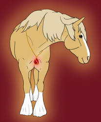 Shine bright like an Amulet - Faime Drawlloween 4 by Happy-Horse-Stable