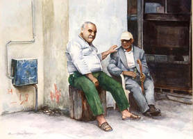Conversation by Bizriart