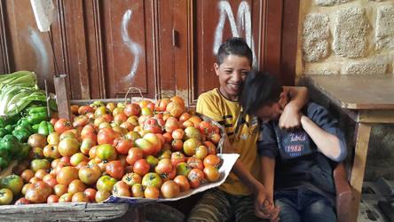 kids at work by Bizriart
