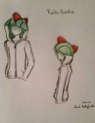 Ralts Hoodie Sketch by TimelessForever