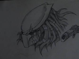 Predator mask by Arcturius-the-Vile