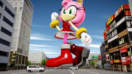 More Random Amy Rose by TinySonixHedgehog