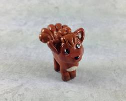 Mini Vulpix Sculpture by LeiliaClay