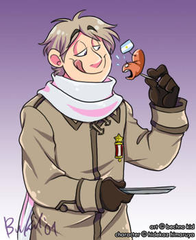 APH- IS LIKE TINY SAUSAGE. by BechnoKid