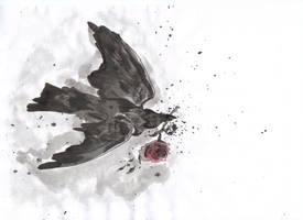 Corvus Rosae by DarkDragonflye