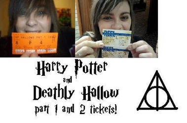 Me with harry potter tickets by Colorful-Kaiya