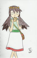 Melody from pokemon 2000 coloured by Colorful-Kaiya