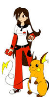 My pkmn trainer o.c by Colorful-Kaiya
